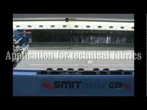 SMIT TEXTILE GS940: Application for technical fabrics, Glass fibers