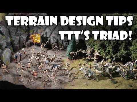 Designing Wargames Terrain - The Terrain Triad