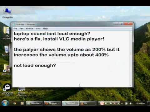 How to increase volume of a laptop/ PC more than its default