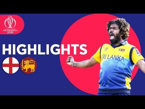 Xxx Mp4 Malinga Stars In Big Upset England V Sri Lanka Match Highlights ICC Cricket World Cup 2019 3gp Sex