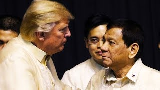 Trump Laughs At Duterte