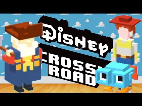 how to unlock TOY STORY Secret Characters in DISNEY CROSSY ROAD | iOS, Android