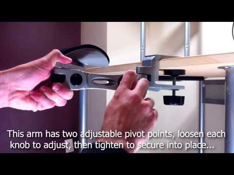 Ergonomic Computer Arm Support (Installation Guide)