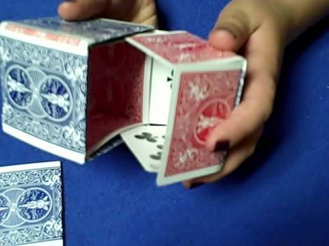 How To Make A Box With Playing Cards - Tutorial