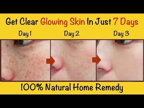 Wash your face with this everyday and get clear glowing skin in just 7 Days
