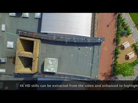 Inaccessible Chimney Inspection with RC Drone - Building Surveys using UAV
