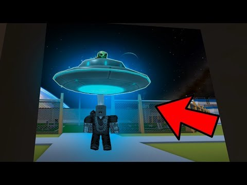 FINDING REAL ALIENS! *SCARY* (Roblox Jailbreak Roleplay)