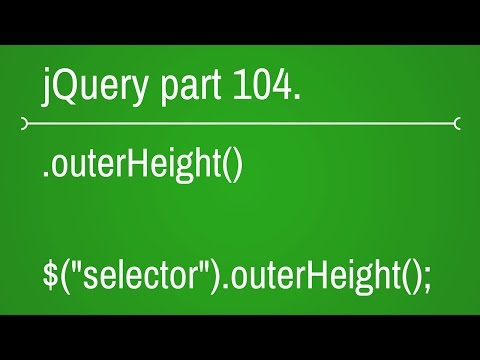 jquery outer height function - part 104