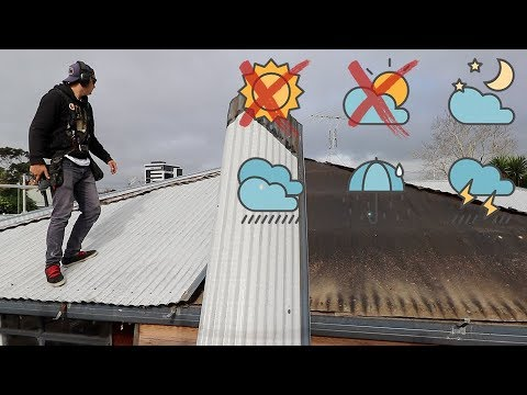 Removing the Roof (in the Rain)