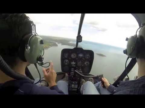 Helicopter tour - 1 hour flight in 3 minutes