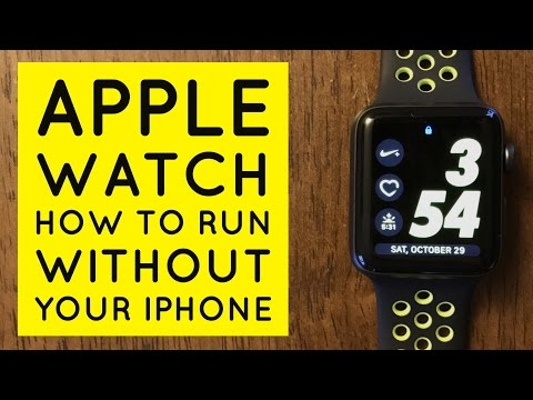 Apple Watch nike + Run Without Your iPhone!