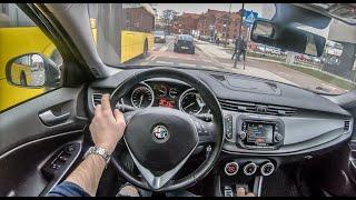 Alfa Romeo Giulietta | 4K POV Test Drive #190 Joe Black