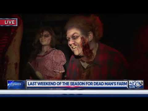 WATE 6 On Your Side visits Dead Man's Farm Haunted House for Halloween