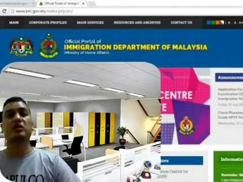 What is the reason that you can not check malaysia working visa online?