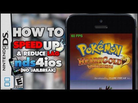 NDS4IOS: 3 Tips to Increase Performance and Reduce Lag (NO COMPUTER)
