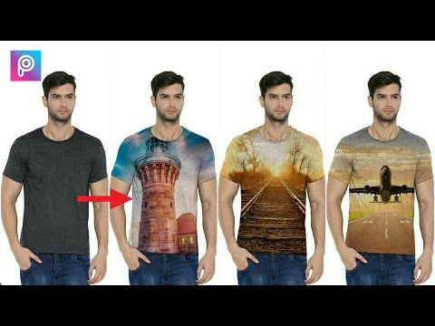 How to put images on T-shirts in PicsArt | PicsArt editing tutorial