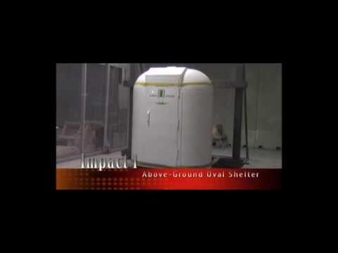 Ark-Pod storm shelter...impact test front