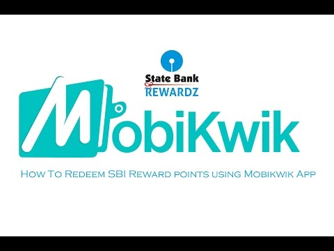 How To Redeem SBI Reward Points Using MobiKwik App (Hindi)