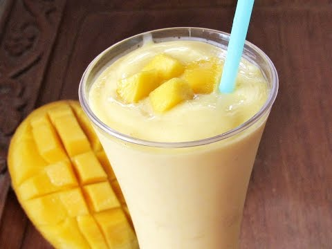 Mango Smoothie Recipe | MANGO MILKSHAKE | Nisa Homey
