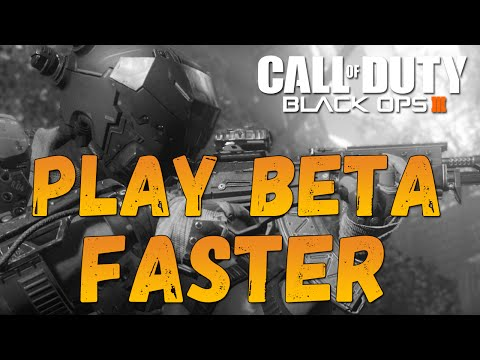 How To Download & Install Black Ops 3 Beta FASTER | PS4 + XBOX ONE [TBOS Episode 10]