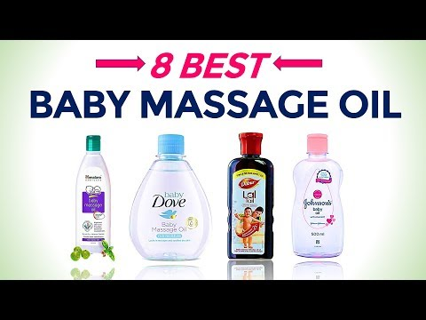 8 Best Baby Massage Oil in India with Price | Best for Newborn