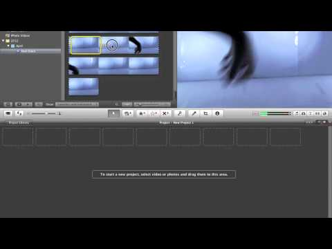 iMovie 11 Tutorial- How to Speed up/Slow down a video