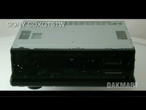 Sony Xplod CDX-GT51W Car CD, Mp3 Player / Receiver - CDXGT51W / CDX-GT510