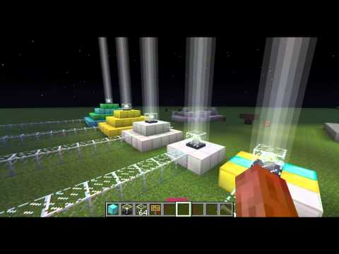 How To Make And Use Beacon Blocks In Minecraft 1.4 - 1.7