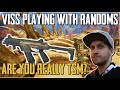 """Viss Playing With Randoms """"Are you on TSM?"""" Apex Legends"""