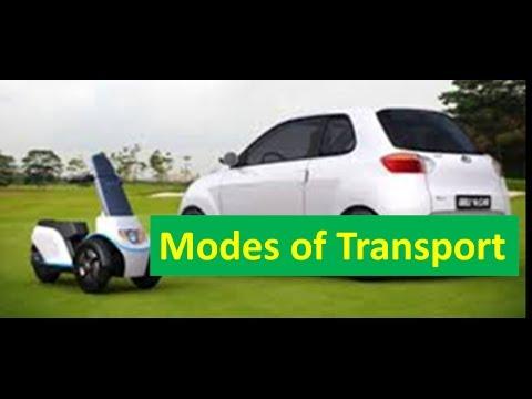 Modes (Means) of Transport -For Kids of Kindergarten,Preschoolers & Toddlers