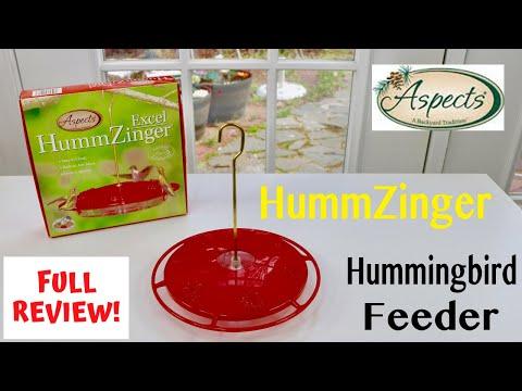 😍 ASPECTS  HUMMZINGER   Hummingbird Feeder - Review ✅