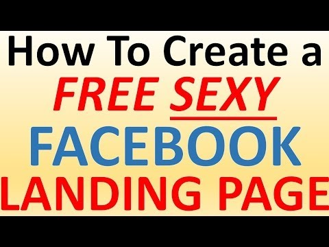 Facebook Landing Page - How to Create a Facebook Landing Page for Free (Quick & Simple)