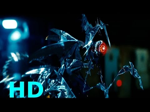 Ravage & Reedman Base Attack - Transformers Revenge Of The Fallen Movie Clip Blu-ray HD Sheitla