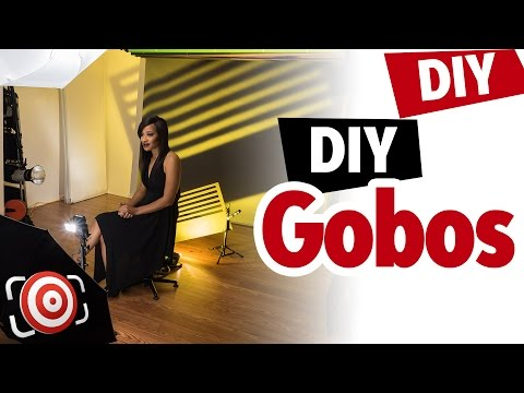 DIY Gobos – Easy and creative portrait lighting tricks to improve your portraits and modeling shots