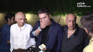 Mahesh Bhatt ANGRY On Reporter For Asking Questions At Reema Lagoo