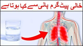 If You Drink Warm Water On Empty Stomach What Happens In Body