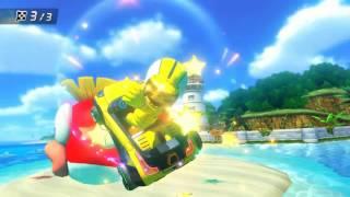 Wii U - Mario Kart 8 - (DS) Cheep Cheep Beach