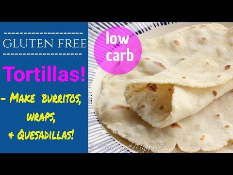 GLUTEN FREE TORTILLAS RECIPE-GRAIN FREE, PALEO-ISH