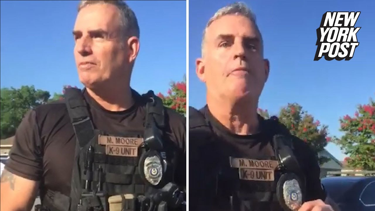Cop Fired After Telling Group of Black Men They 'Don't Belong in My City' | New York Post