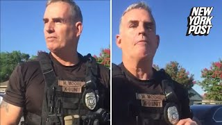 Cop fired after claiming a group of black men
