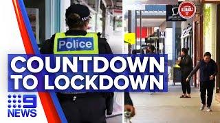 Coronavirus: Victorians forced back into lockdowns from midnight | 9 News Australia