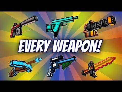 Pixel Gun 3D - Buying Every Gun In Game!