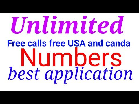 How to Make free calls and free USA and Canada number world-wide Free calls and number