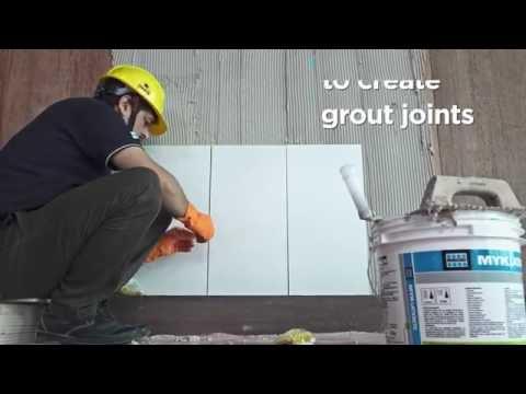 DWA 215 Adhesive Tiling on plywood