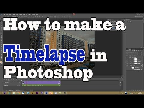 How to make a Timelapse in Photoshop