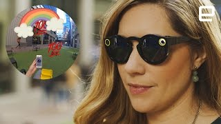 Snapchat's Spectacles in the real world