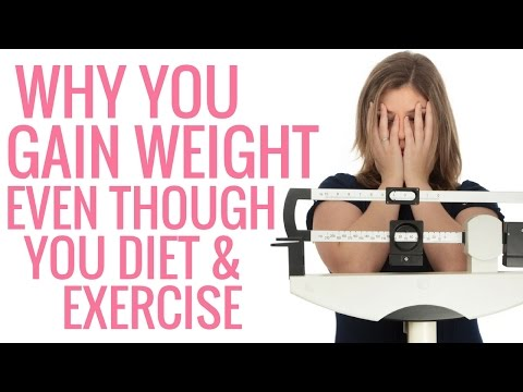 Why you Gain Weight Even though you Diet and Exercise - Christina Carlyle