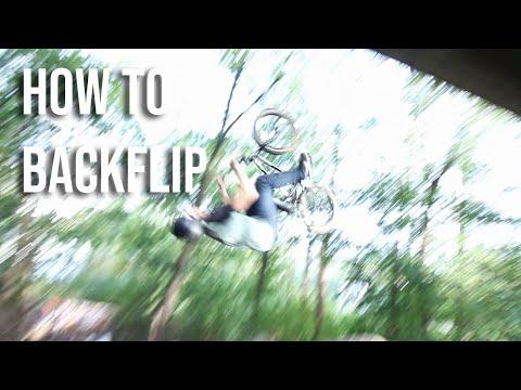 How to backflip a BMX bike