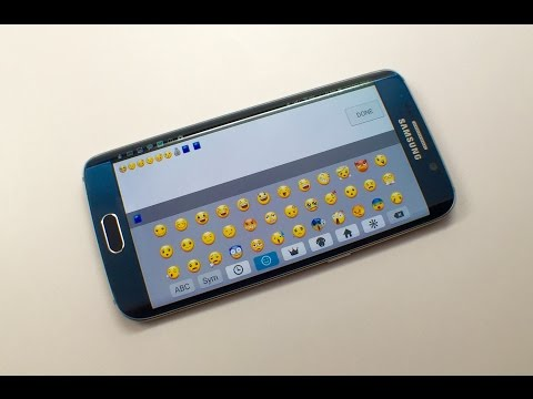 How to Use Galaxy S6 Emoji