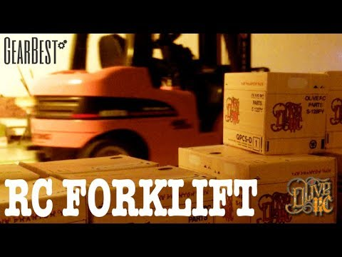 RC FORKLIFT/CRANE (HUINA Toys from GEARBEST)